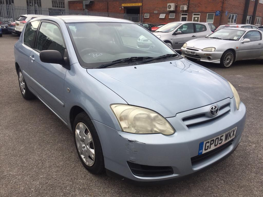 Awesome 2005 Toyota Corolla 1.4 D4d Rare Opportunity 70 Mpg Car 2 Owners V Low Mls  Full