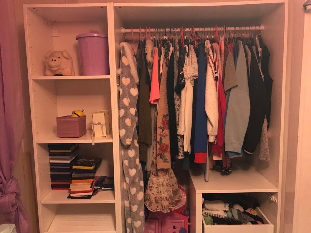 Ikea Wardrobe Insert
