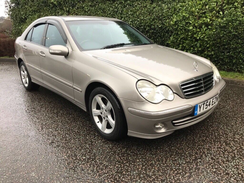 IDEAL FAMILY CAR** 2004 Mercedes Benz C Class Saloon Facelift 2.2 C220 CDI