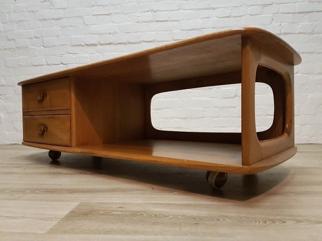 Ercol Minerva Coffee Table (DELIVERY AVAILABLE FOR THIS ITEM OF FURNITURE)