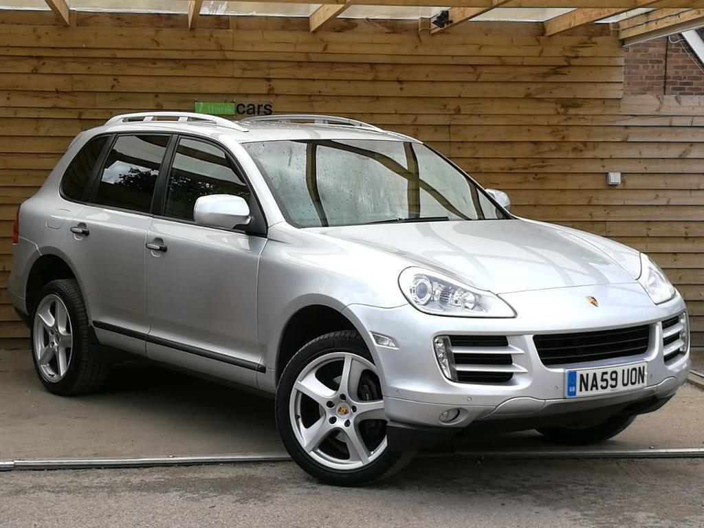 Bon Porsche Cayenne Diesel 5dr Tiptronic S SAT NAV/FULL LEATHER (crystal  Silver Metallic