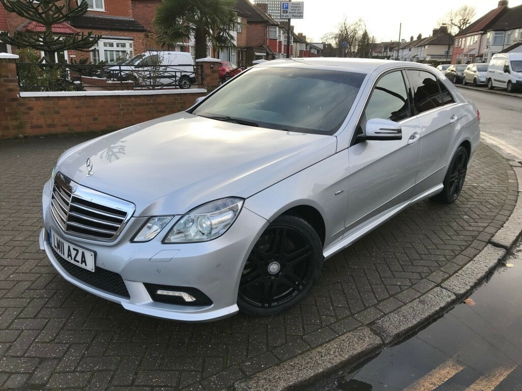 2011 (11) Mercedes Benz E Class E250 CDI BlueEFFICIENCY Sport 7G