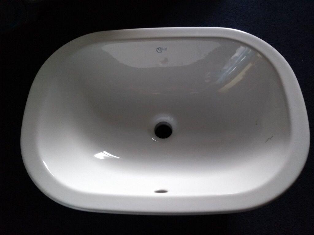 Modern Counter Top Large Bathroom Basin.