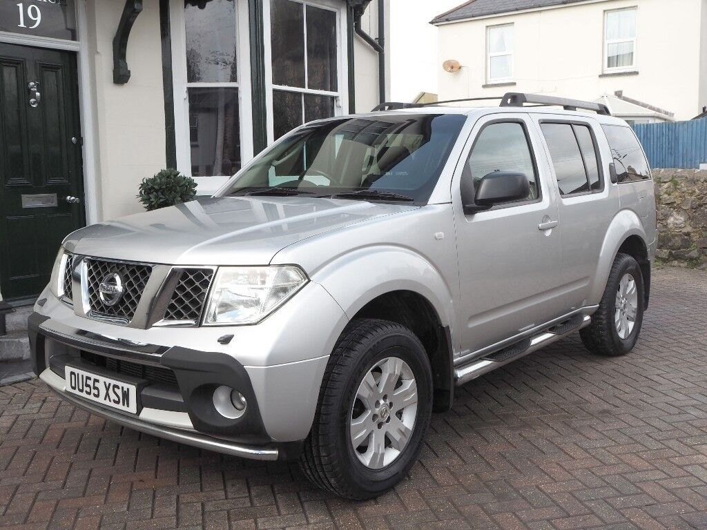 Nissan Pathfinder SE DCi   2005   Very Low Mileage With Full Service  History   Silver