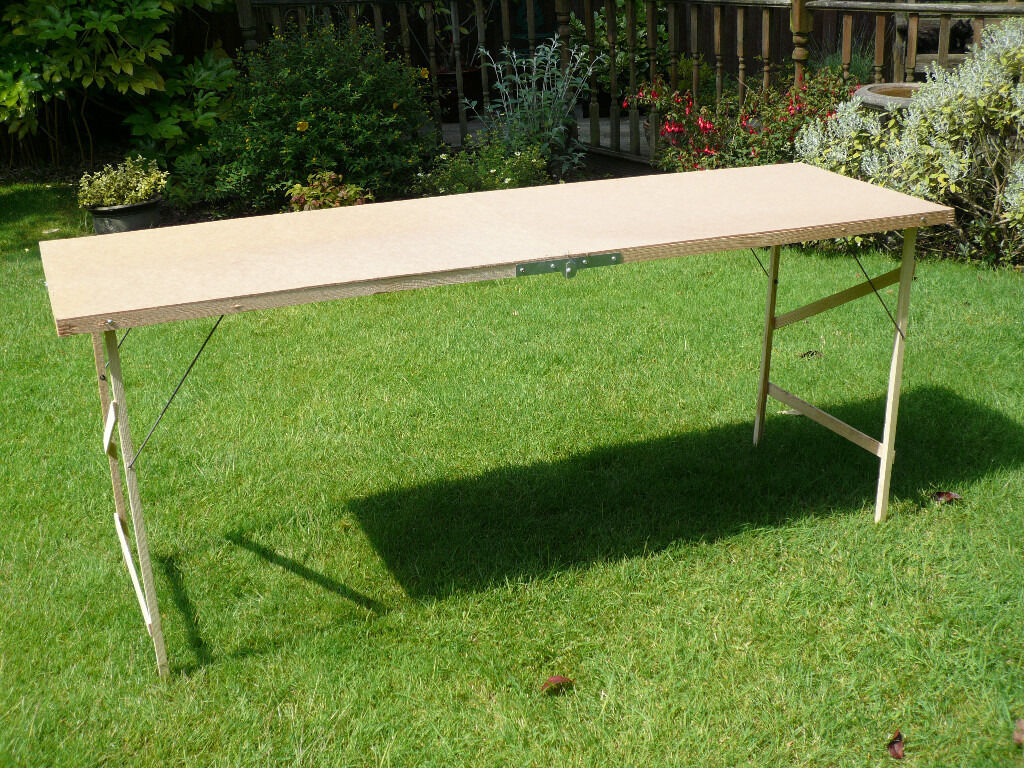 Pasting Table, New And Never Used, Fold Away B U0026 Q Wallpaper Pasting Part 86