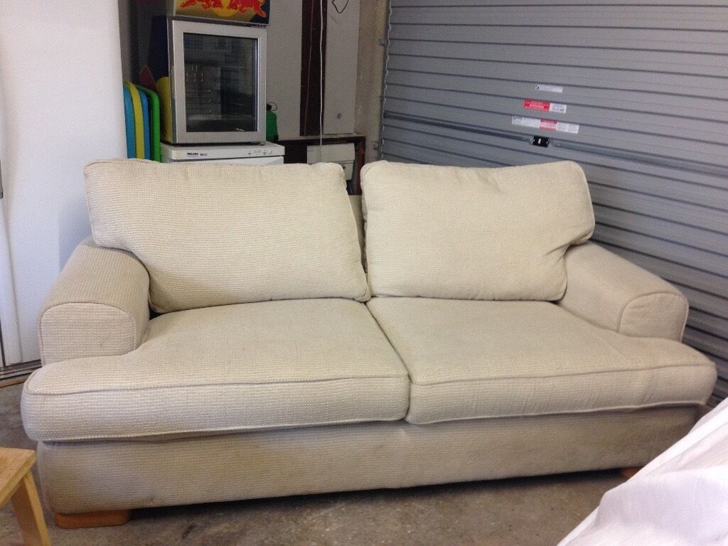 Cream Sofa With Removable Machine Washable Covers In Coleraine