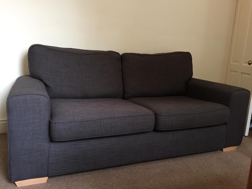 dfs 3 seater sofa truffle brown colour dfs 3 seater sofa truffle brown colour   in mossley hill      rh   gumtree