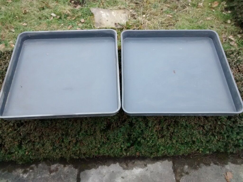 Garden Trays For Pot Plants, Mixing Compost Etc.