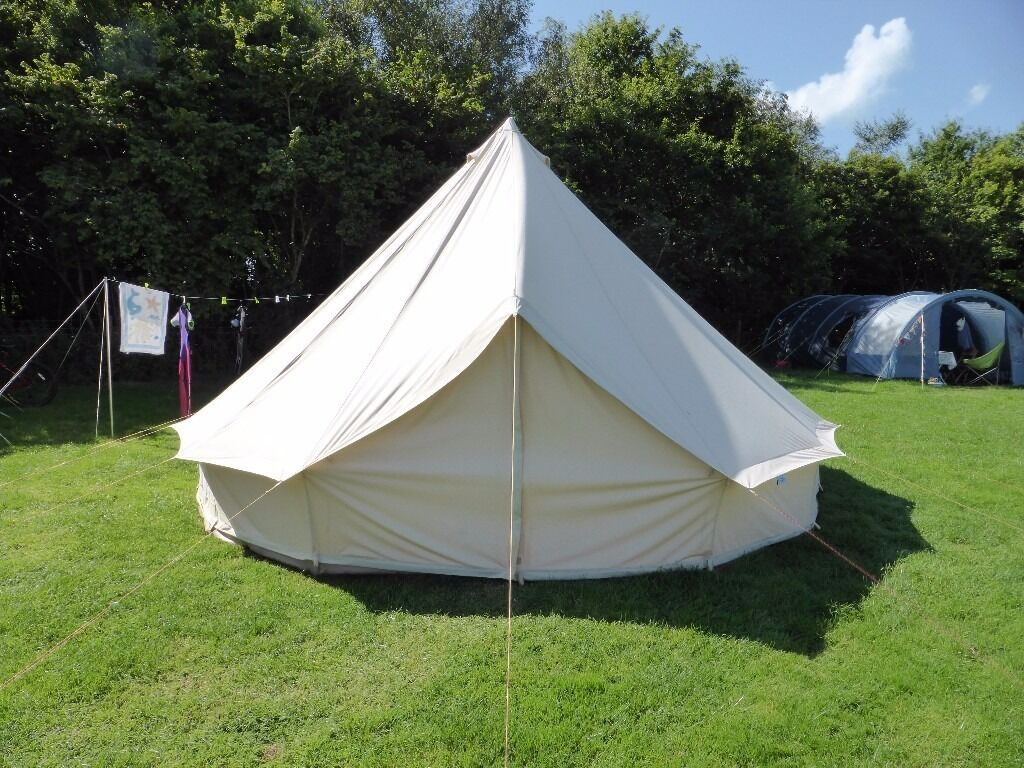 Brand New Soulpad 5M Bell Tent with Zipped in Groundsheet ZIG & Brand New Soulpad 5M Bell Tent with Zipped in Groundsheet ZIG | in ...