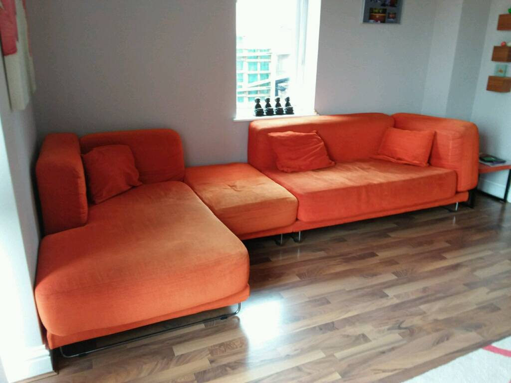 Orange Ikea Sofa Tylosand Sofa Bed From Ikea Apartment