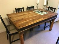 farmhouse style dining table 150cm x 90cm collection asap - Farmhouse Table For Sale