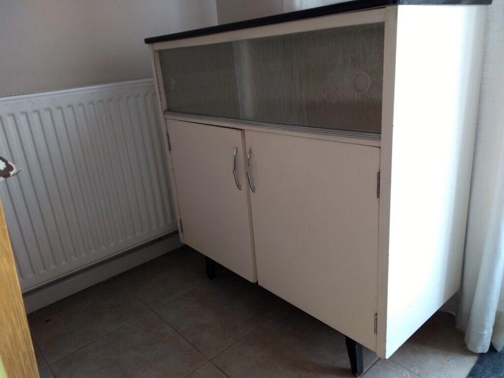 Vintage 1960u0027s free standing kitchen cabinet/unit original condition. Create that retro style! & Vintage 1960u0027s free standing kitchen cabinet/unit original condition ...