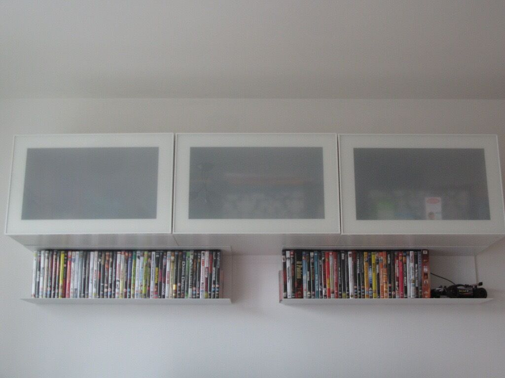 Superbe BESTA Shelf Units With Glass Doors   Perfect Conditions