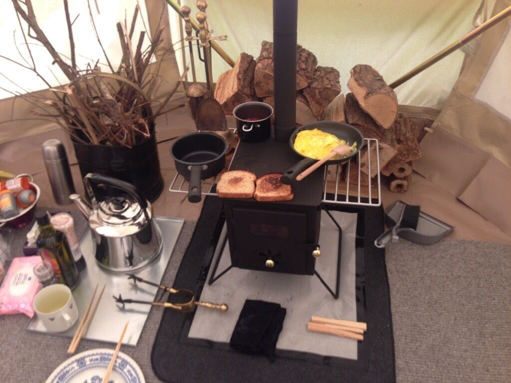 Bell tent stove / travel stove & Bell tent stove / travel stove | in Clapham London | Gumtree