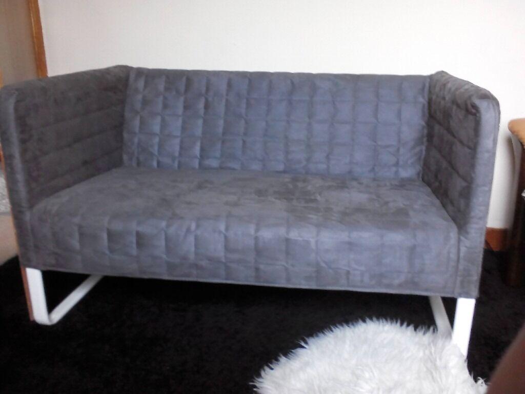 Ikea Small 2 Seater Sofa Grey