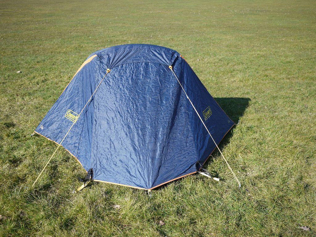 Original Coleman Cobra 2 RS Lightweight Tent Used For 2 Ridgway Cycle Rides & Original Coleman Cobra 2 RS Lightweight Tent Used For 2 Ridgway ...