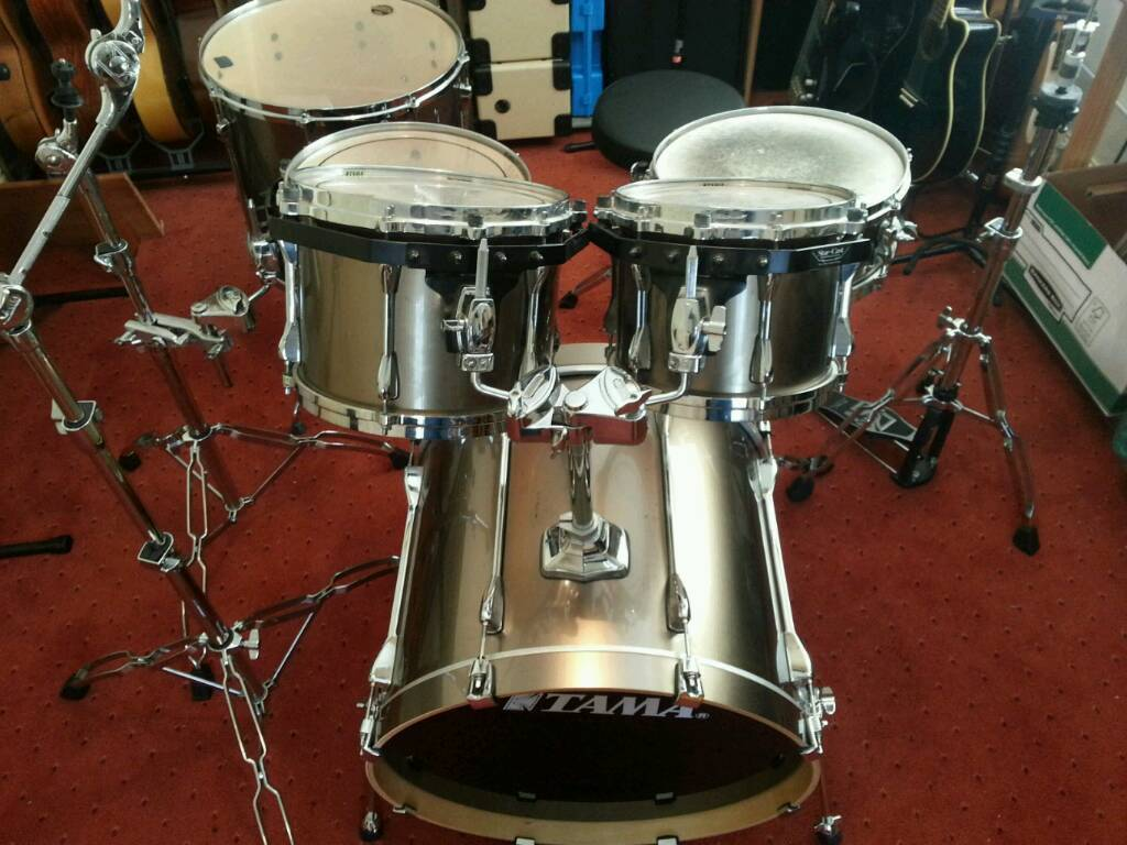Gold Tama Superstar With Extra Custom 18u0026quot; ...
