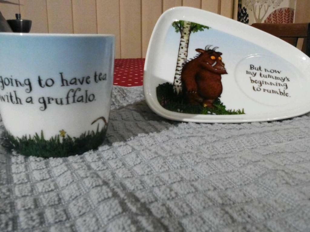 Gruffalo mug and plate set & Gruffalo mug and plate set | in Timperley Manchester | Gumtree