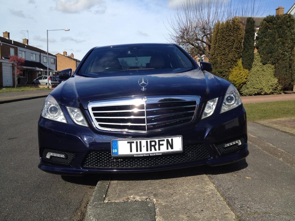 Beau Mercedes Benz E350 Sport Blue Efficiency | In Harlow, Essex | Gumtree