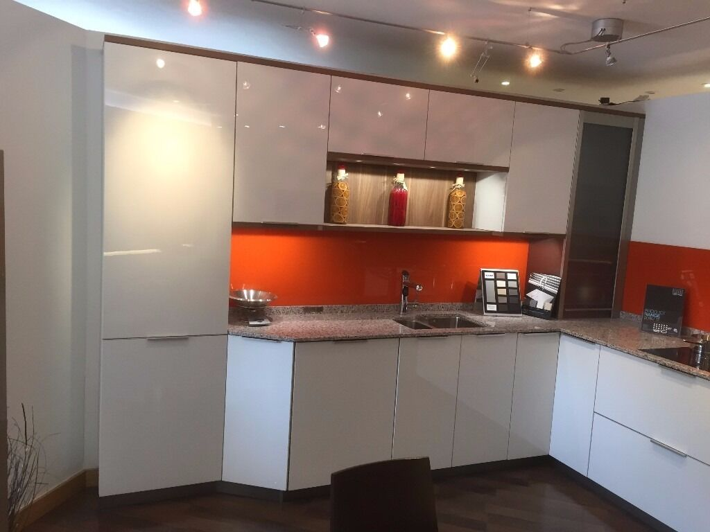 Ex Display High Gloss Leicht Kitchen For Sale