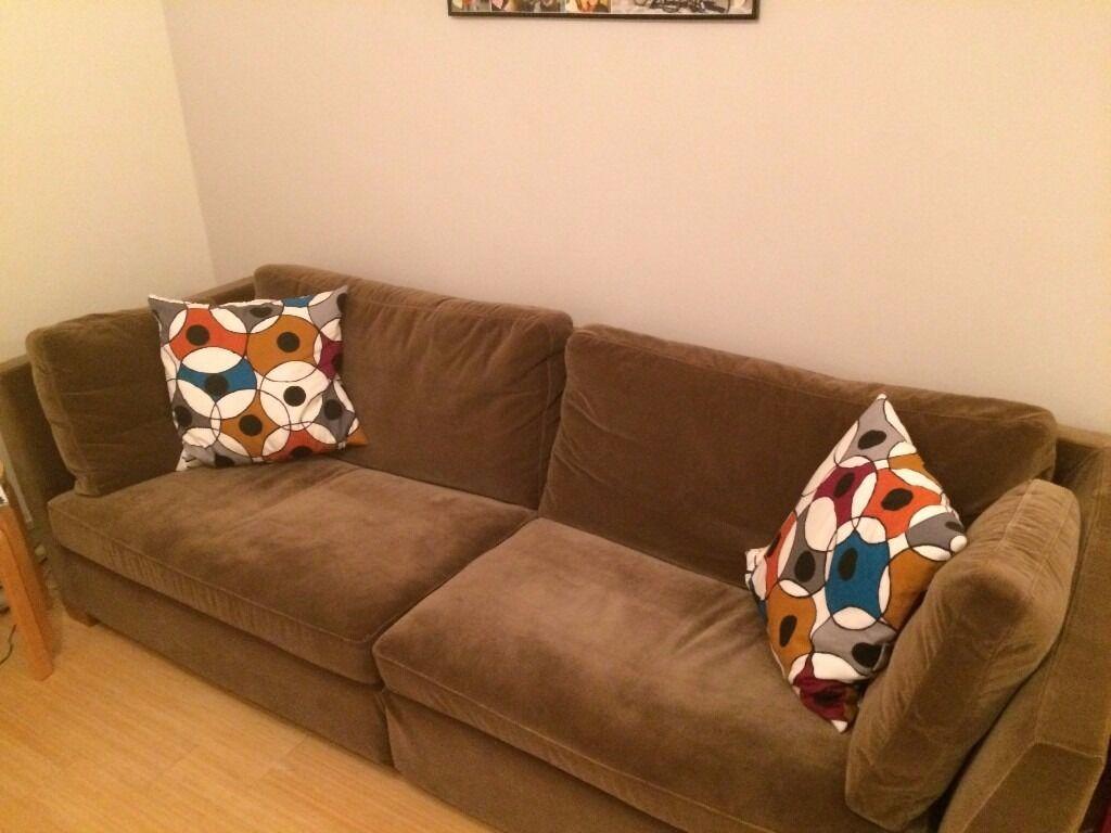 Ikea Stockholm 3 Seater Velvet Sofa