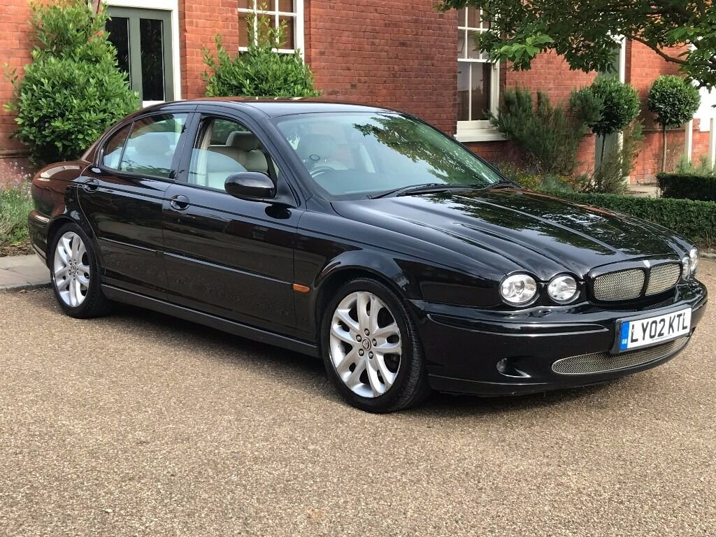 2002 JAGUAR X TYPE V6 SPORT MANUAL BLACK CREAM LEATHER STARTS U0026 DRIVES 100%  VERY