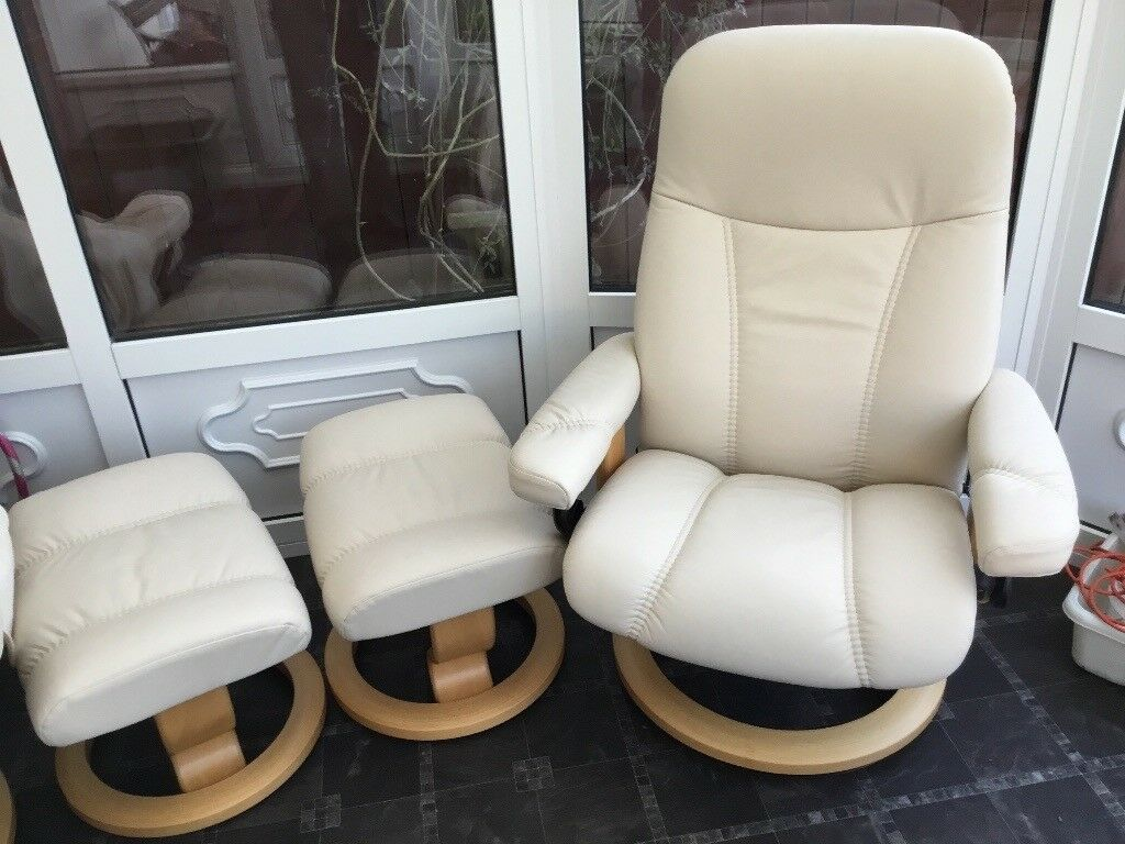 Stress Less Chairs And Foot Stools