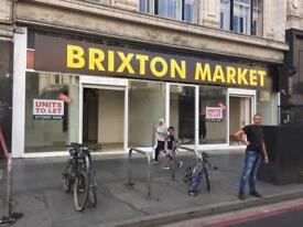 Lock Up Shop Units/ To Let Rent/ Brixton Market 422 Brixton Road