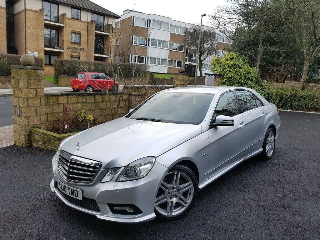 Mercedes E350 Bluefficiency Sport CDi A