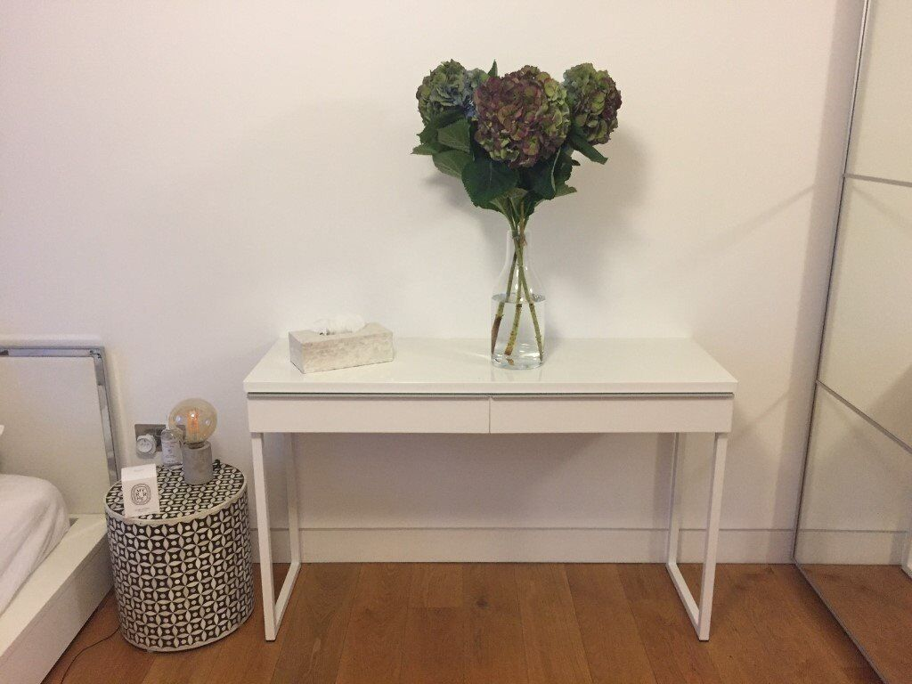 Good IKEA Besta Burs White Gloss Console Table FOR SALE Nice Ideas