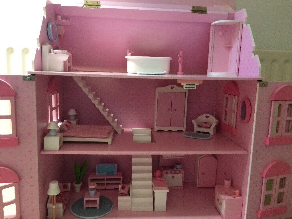 Perfect Early Learning Centre Rose Cottage Dolls House Furniture