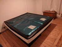 aquastar super king waterbed with base delivery and setup