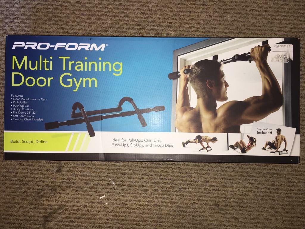 Pro Form Multi Training Door Gym