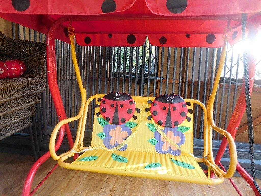 Kids Garden Swing Seat.