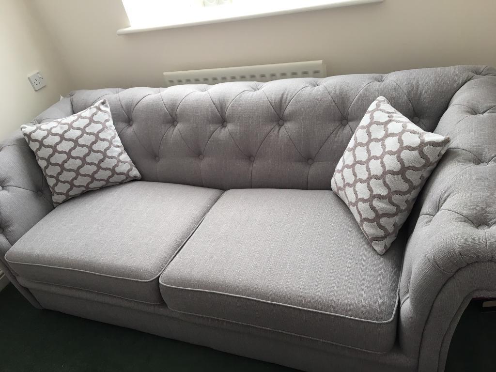 Fabulous Grey 3 Seater Sofa Home Decor 88 Cjindustries Chair Design For Home Cjindustriesco