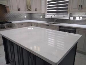 Kitchen Countertop Starts From $40/sqft On Most Popular Granite Or Quartz  Colors!