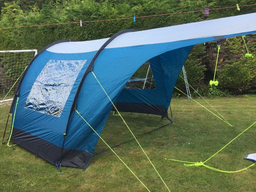 Tent extension awning blue & Tent extension awning blue | in Witham Essex | Gumtree