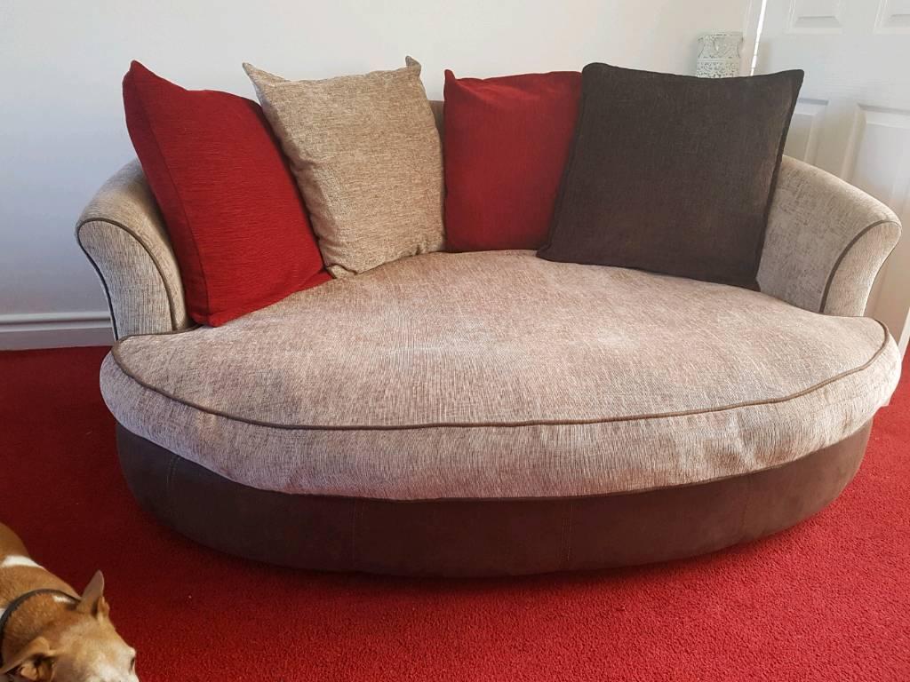 Bon 3 Seater Sofa And 2 Seater Oval Sofa