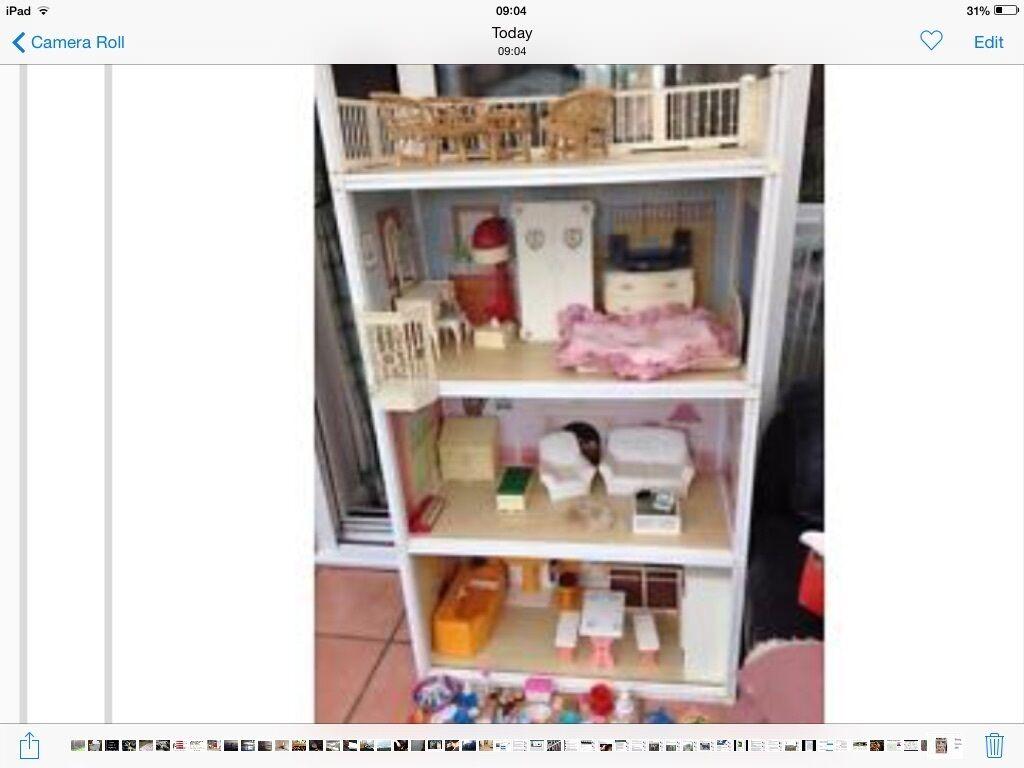 Sindy Dolls House Retro 1980u0027s With Accessories