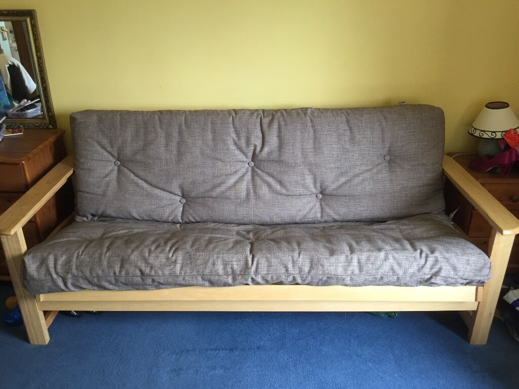 Double Futon Sofa. Converts To Double Bed. Only Used Rarely As A Guest Bed