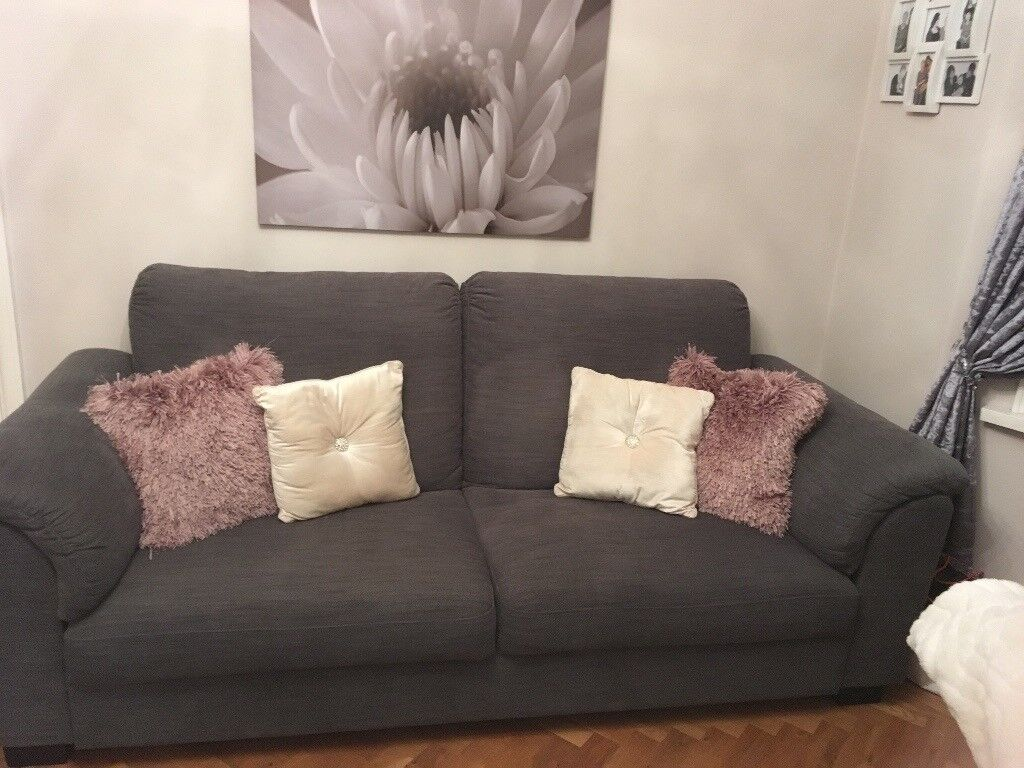 Marvelous Ikea Tidafors 3 Seater Sofa In Hensta Grey