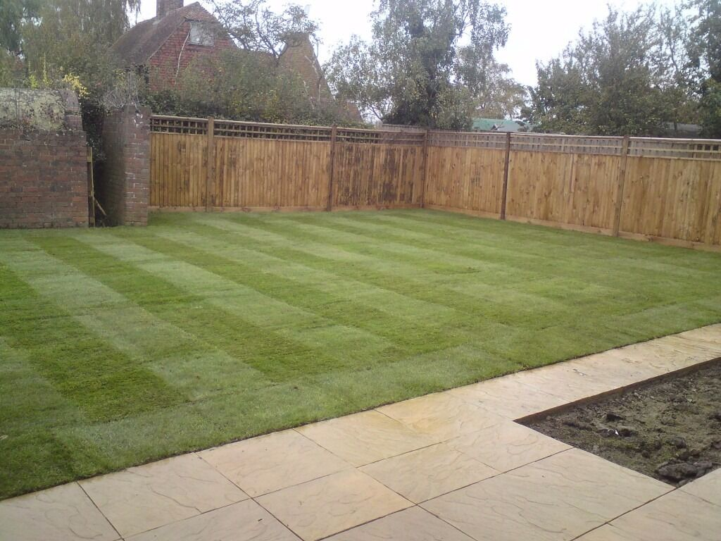 Gardening, Turfing, Flagging, Fencing. Wow!! 50% Off This Month