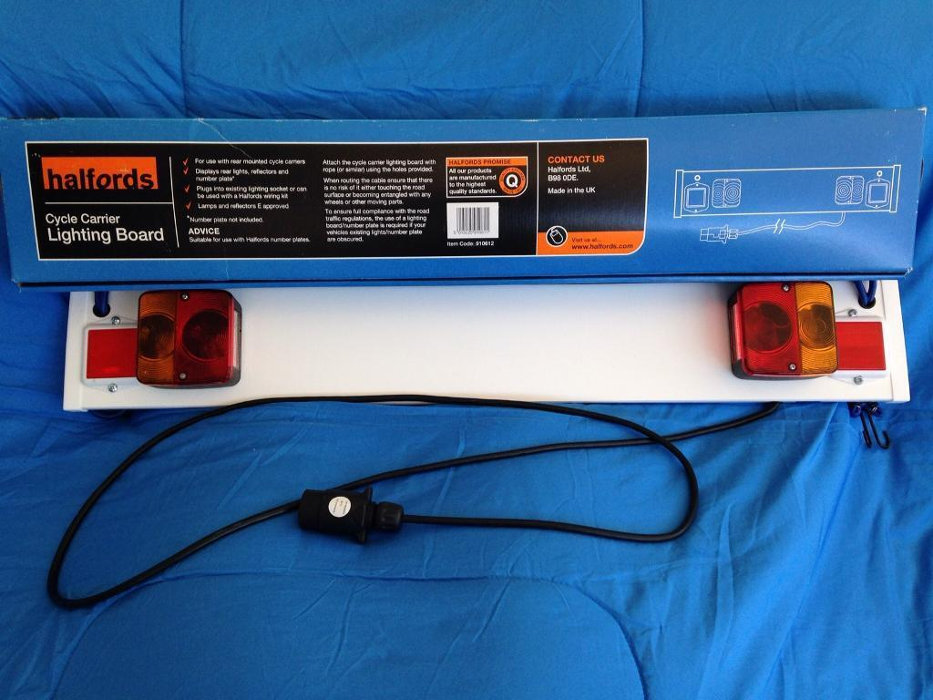 Halfords Cycle Carrier Lighting Board & Halfords Cycle Carrier Lighting Board | in Stannington South ... azcodes.com