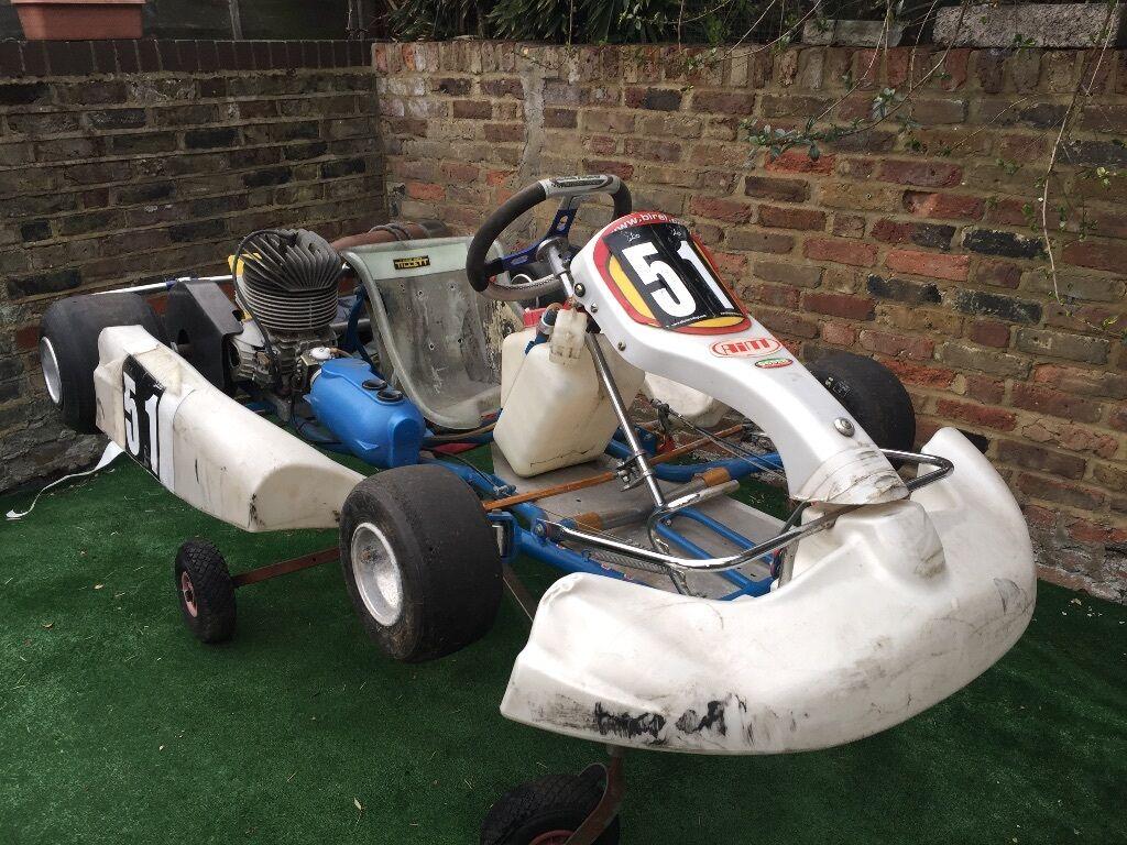 EasyKart Junior 100cc (Number 51) Birel Chassis   IAME Engine   Go Kart