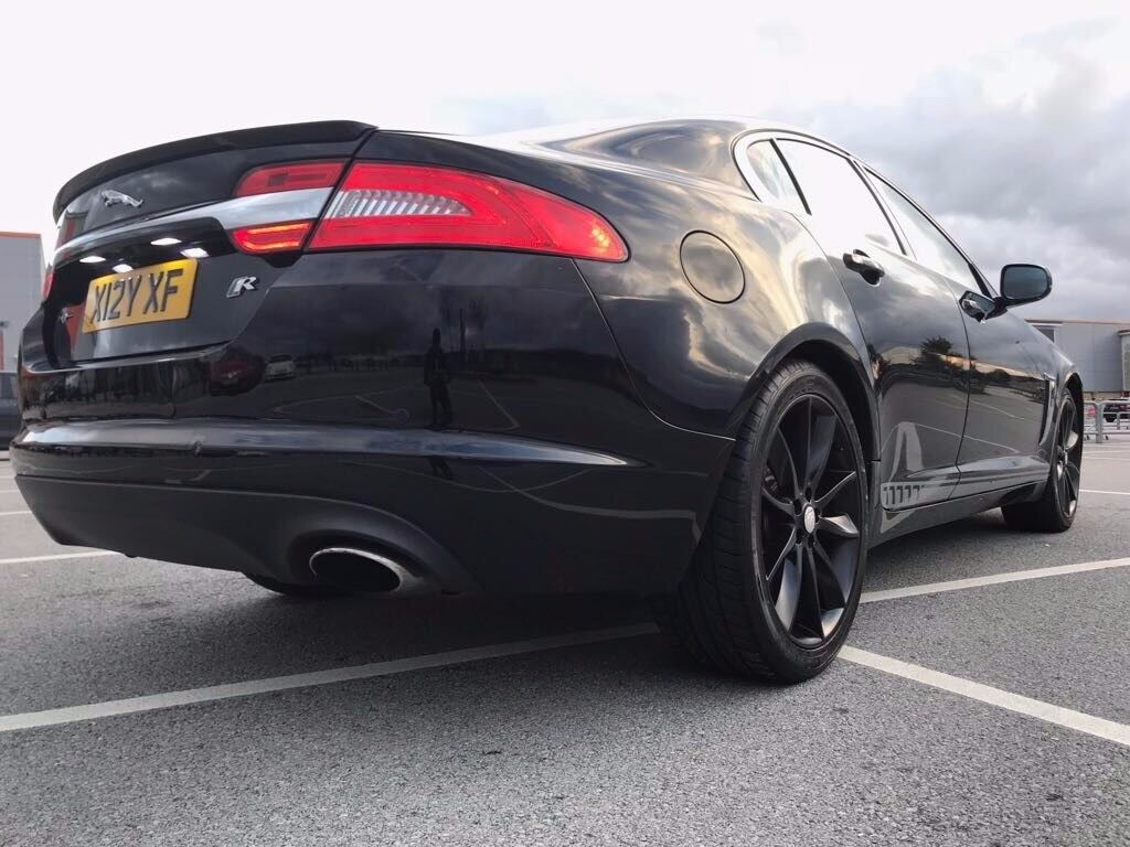 Jaguar XF 2012 Luxury Black Sports Bodykit 20inch Alloy Wheels 41,000 With  FSH