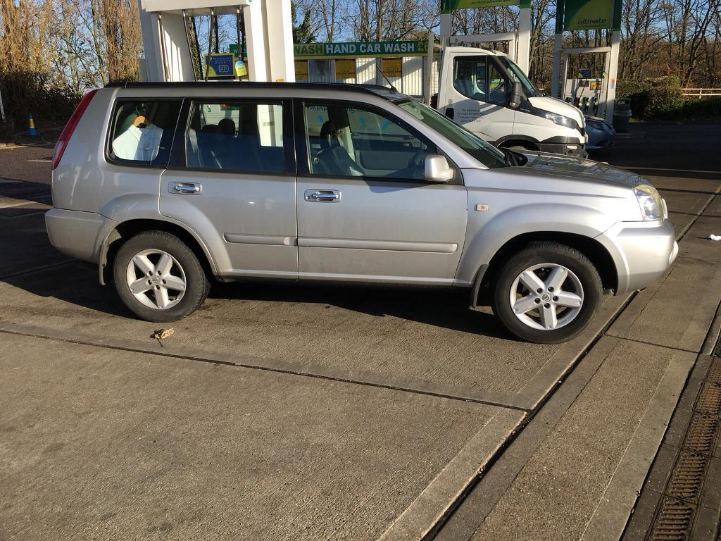 Lovely Nissan X Trial Diesel 4x4 4 Wheel Drive Leather Interior Towbar