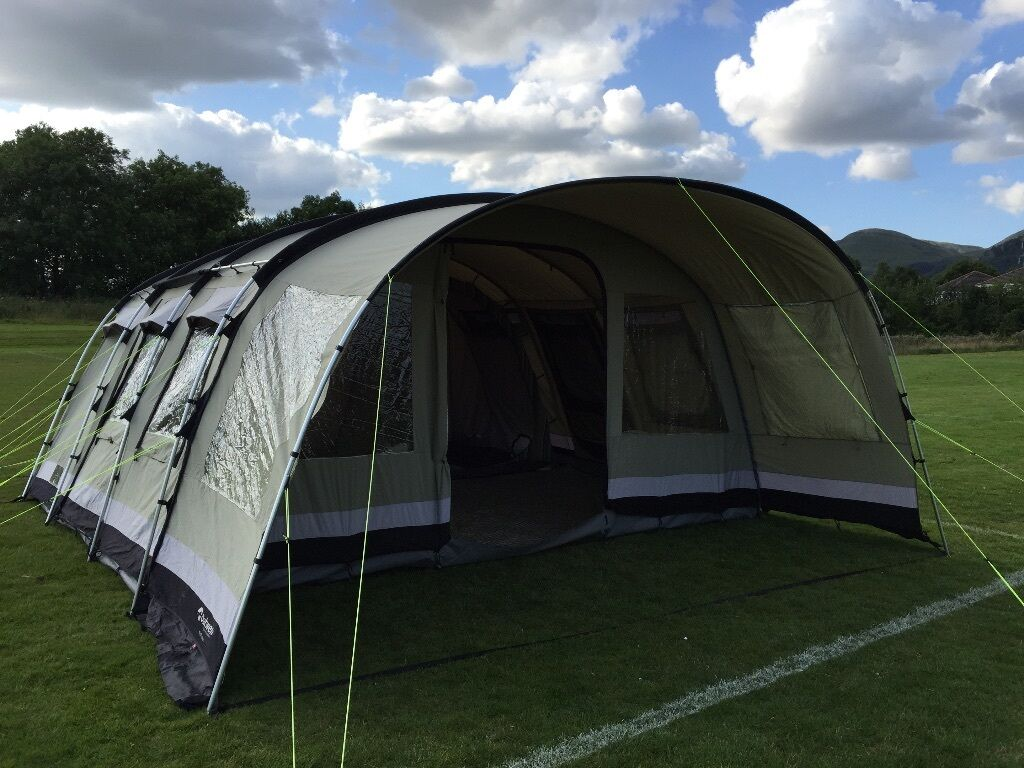 Outwell Wolf Lake 7 Polycotton tent 3 bedrooms & Outwell Wolf Lake 7 Polycotton tent 3 bedrooms | in Sauchie ...