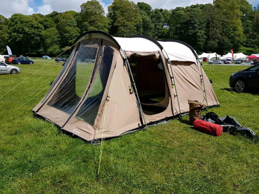 Outwell polycotton tent- Yukon 4. & Outwell polycotton tent- Yukon 4.   in Plymouth Devon   Gumtree
