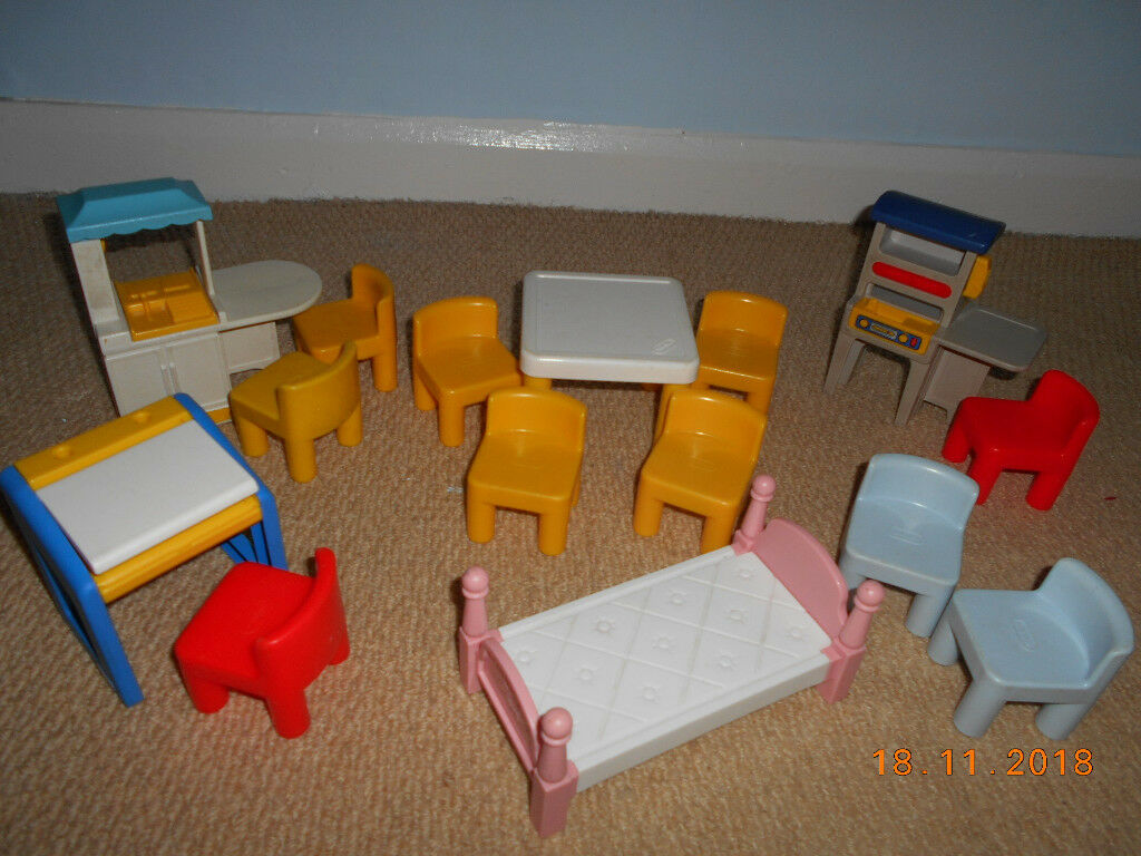 Little Tikes Dolls House Furniture Good Clean Used Condition
