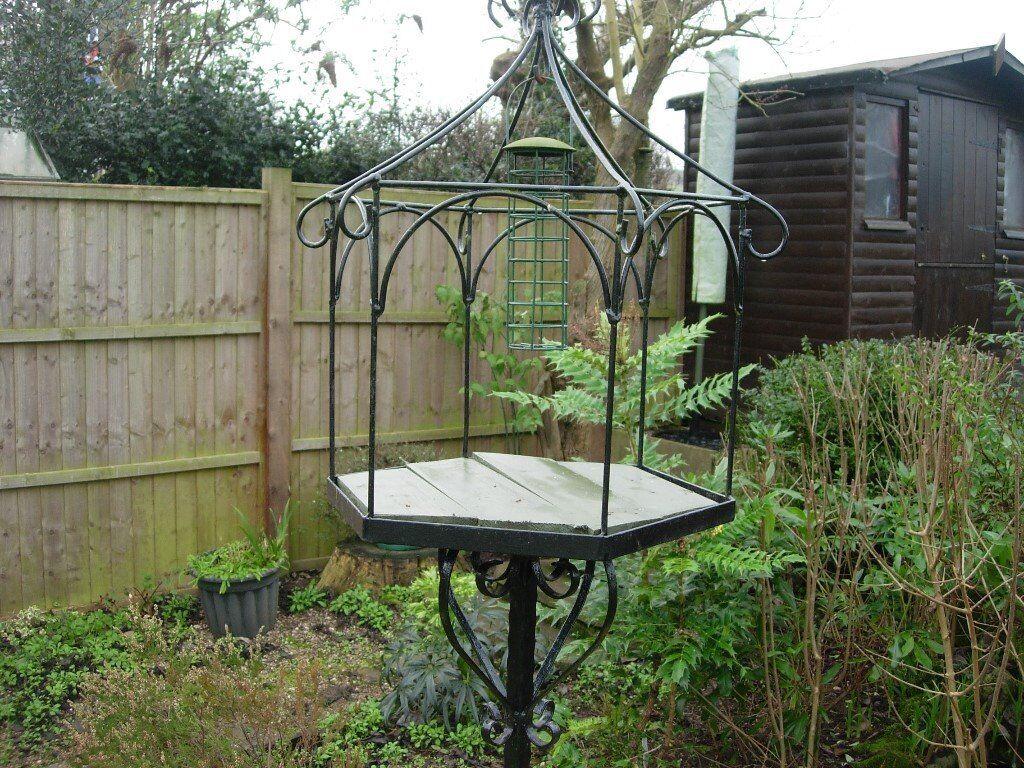 Superieur Wrought Iron Bird Table